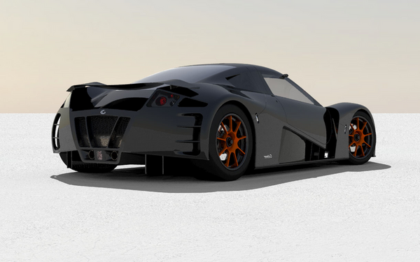 Rendering 2 of Galmer G12 GT
